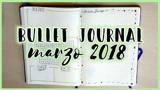 Bullet Journal · Diario Bullet MARZO 2018   Christine Hug