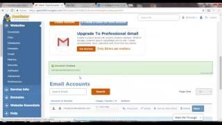 Hoe Maakt u Gratis Aangepaste e-Mail Adres in C Paneel