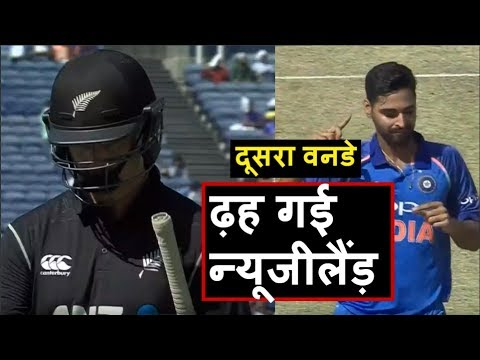 IND vs NZ 2nd ODI: Kiwis Down 5 Wickets  | Headlines Sports