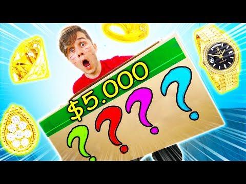 Download Youtube: O QUE TEM NUMA CAIXA MISTERIOSA DE $5000 ?