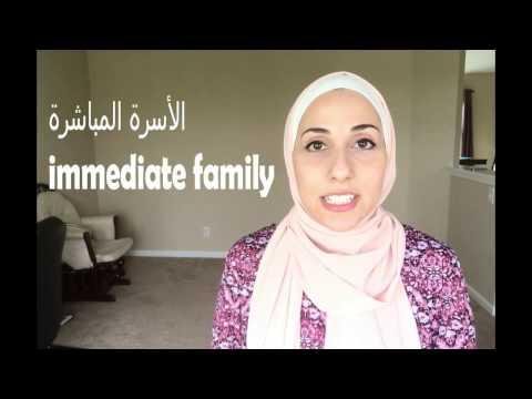 Learn English | Family & Relatives - الأسرة و الأقارب بالإنجليزية - كيف تتحدث عن العائلة
