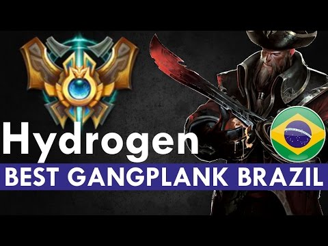 BEST GANGPLANK BRAZIL - Hydrogen vs Flash Wolves's MMD| League of Legends