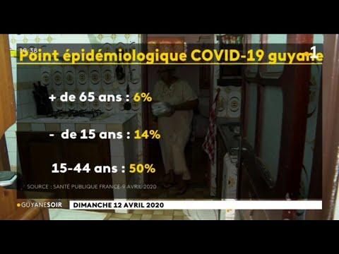 Coronavirus: le point épidémiologique en Guyane