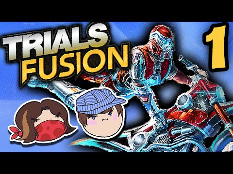 Trials Fusion: Position of Power - PART 1 - Steam Train