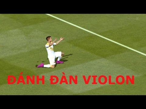 Kênh Future Lengends | ĂN MỪNG BÀN THẮNG #11 ĐÁNH ĐÀN VIOLON - FIFA Online