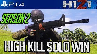 H1Z1 PS4: I LOVE THE M40! SEASON 2 HIGH KILL GAMEPLAY! #H1Z1 #H1Z1PS4