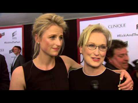 Ricki and The Flash: Mamie Gummer & Meryl Streep Movie Premiere