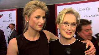 Ricki and The Flash: Mamie Gummer & Meryl Streep Movie Premiere Interview