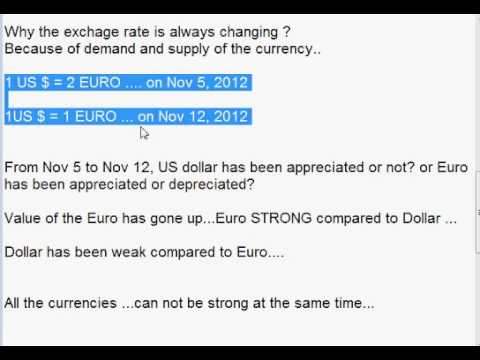 How to determine foreign exchange rate? Foreign Exchange Market.Lecture Two