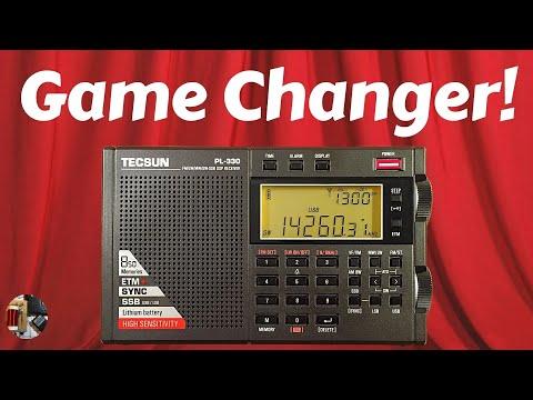 Tecsun PL-330 AM FM LW Shortwave SSB Portable Radio Review