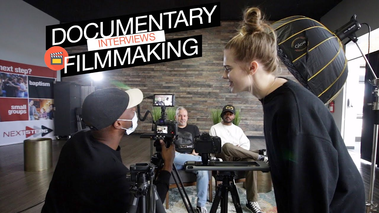 Documentary Filmmaking Set Up Tips - How To Shoot Cinematic Interviews Tutorial