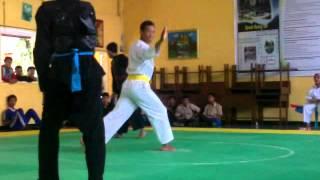 Kejuaraan pencak silat di Banyuwangi