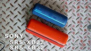 Trên tay loa di động Sony SRS-XB22 | XB32