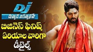 Dj Duvvada Jagannadham Business Area Wise Distributors List | Telugu Cinema