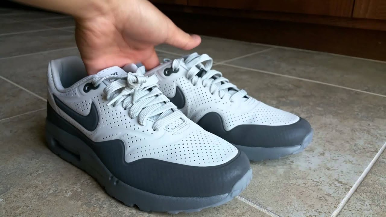newest 5cbeb 25f13 Nike Air Max 1 Ultra Moire - On Feet Illuminated