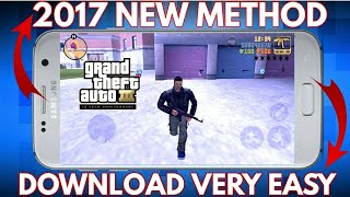 How To Download GTA 3 for android free 2017(hindi/urdu)
