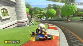 Mario Circuit - 1:44.414 - Kαzυσ (Mario Kart 8 World Record) 60FPS WITH CHROME