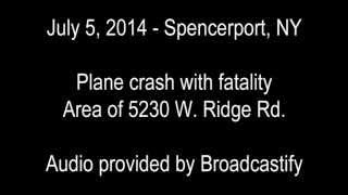 Fatal Plane Crash in Spencerport, NY