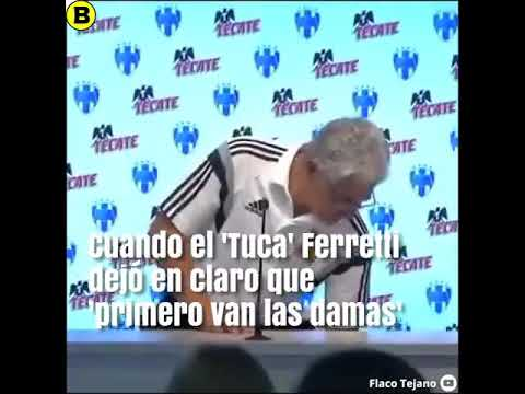 TUCA FERRETI PRIMERO LAS DAMAS