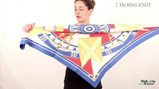 10 ways to KNOT your HERMES scarf - OPHERTY & CIOCCI