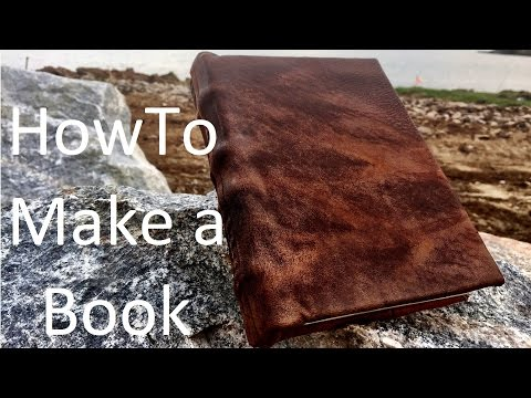 How to Make a Book from Scratch