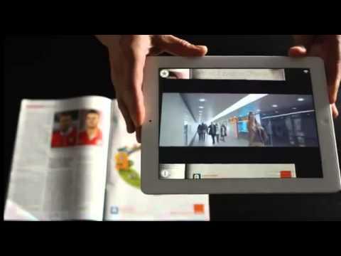 Kampania Orange Polska - Augmented Reality Aurasma