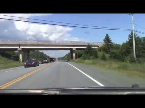 Nova Scotia Highway 107 - Dartmouth to Jeddore (Real time)