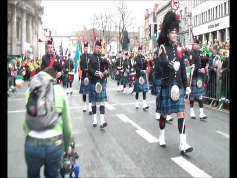 "Dublin Fire Brigade Pipe Band ""Dawning of the day - Minstrel Boy - Let Erin Remember"""