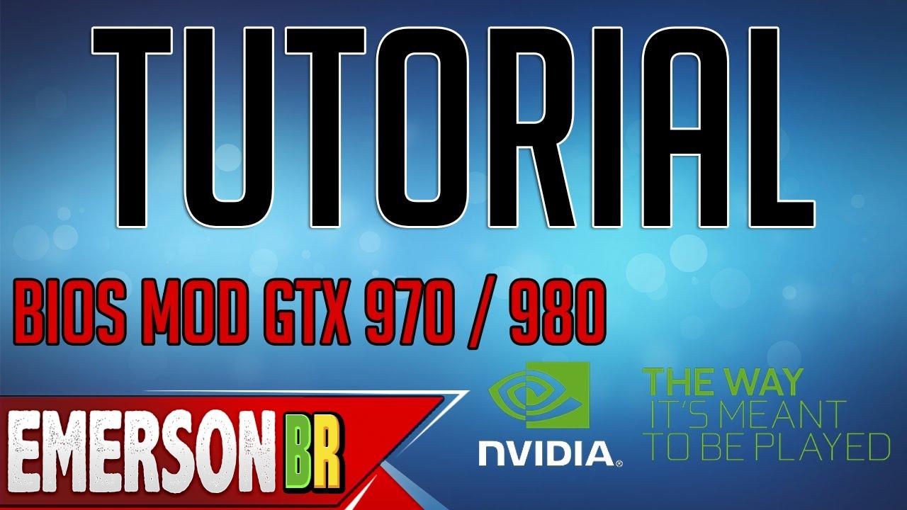 Tutorial - Atualizando BIOS Nvidia GTX 970 / GTX 980 / GTX 960 - nvflash  5 218 [PT-BR]