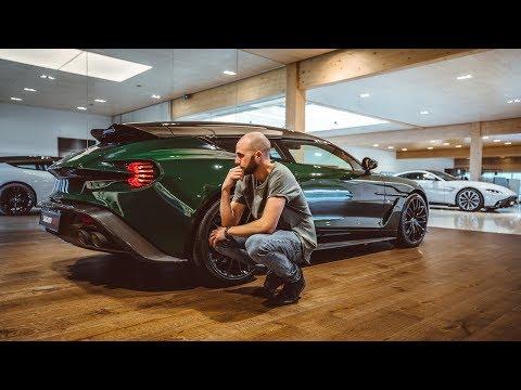 The Perfect Aston Martin Zagato Shooting Brake!? | Aston Martin St. Gallen