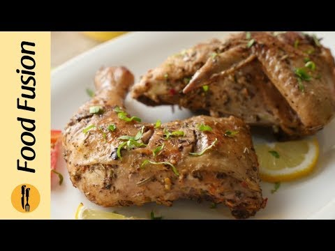 Grilled Greek Chicken Recipe by Food Fusion
