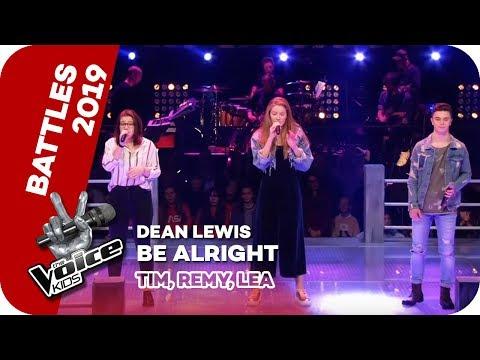 Dean Lewis - Be Alright (Tim, Remy, Lea)   Battles   The Voice Kids 2019   SAT.1