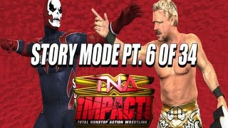 TNA iMPACT! (Video Game) PS2 Storymode Part 6 of 34