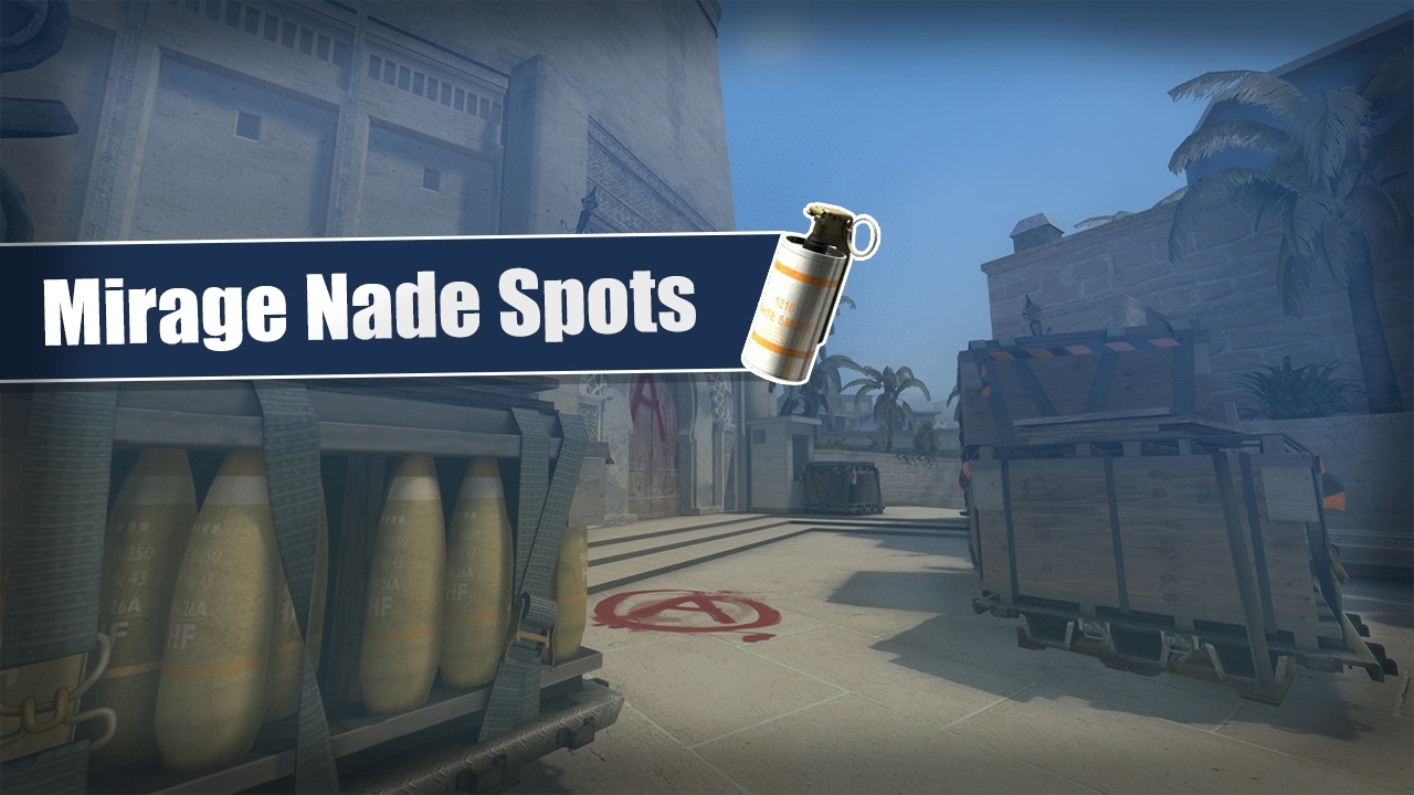 how to get mirage spots from passersby