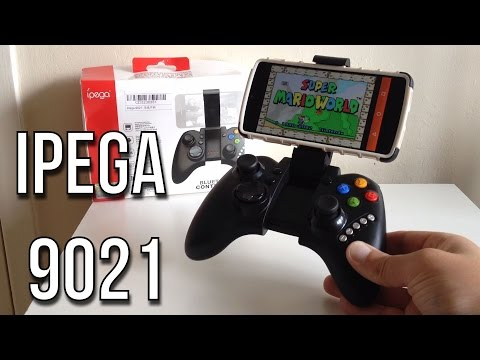 iPEGA PG-9021 Bluetooth Wireless Game Controller Gamepad Unboxing, Test & First Impressions