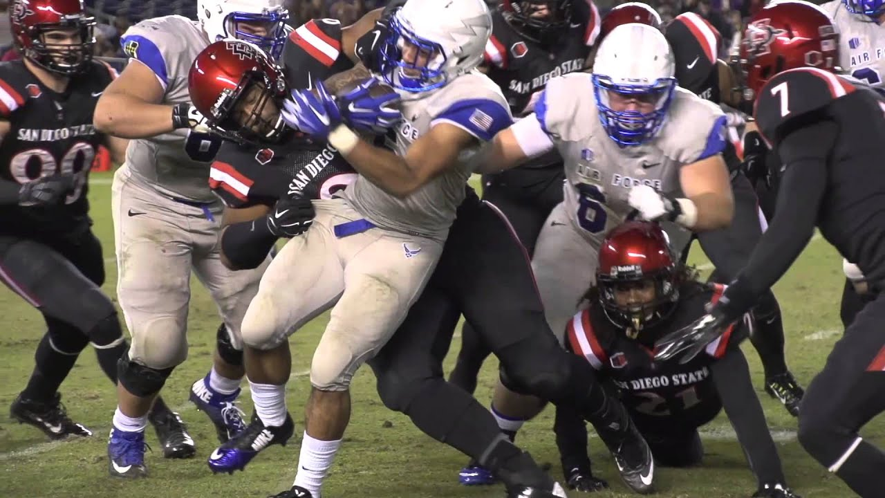 2014 San Diego State vs. Air Force Football Highlights ...