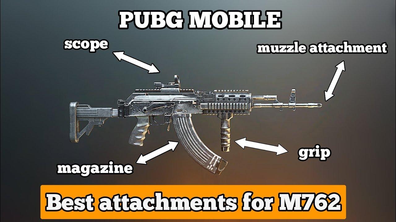 M762 Pubg: M762 Best Attachments Set Up