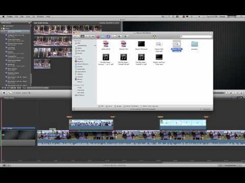 Como Insertar una imagen en un vídeo con iMovie 09 | Doovi