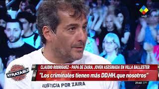 """El dolor del padre de Zaira en Intratables:  """"No sé cómo vamos a seguir"""""""