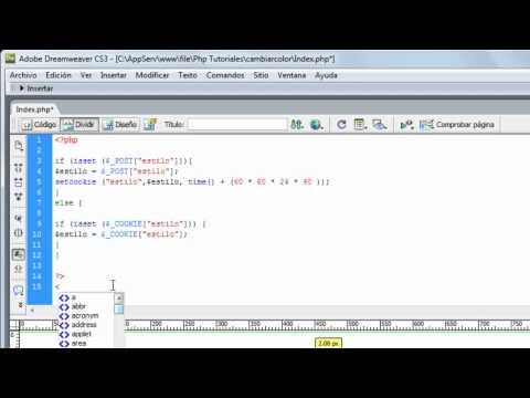 Cambiar Diseño De Pagina [PHP] [CSS] 1/2
