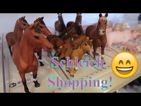 🐴Shopping For Schleich Horses! Organizing The Schleich At The Store! Schleich Haul!🐎 FIRST DAY TV