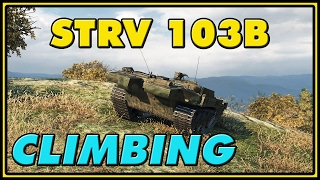 World of Tanks | Climbing - Strv 103B - 9 Kills - 8K Damage