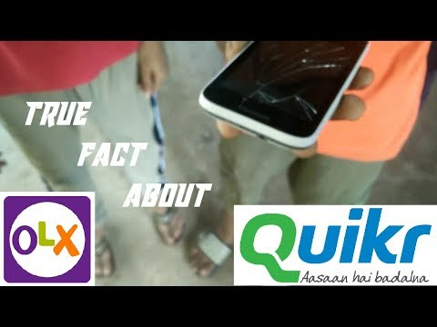Reality behind OLX and QUIKR || Truth behind Quikr &Olx