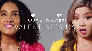 People Describe Their Best & Worst Valentine's Day | Keep it 100 | Cut