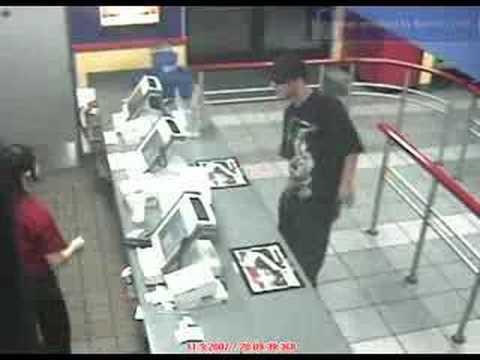 Burger King robbery Glendale, Arizona