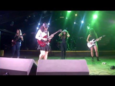 Hells Girls  Female ACDC Tribute   Money Talks