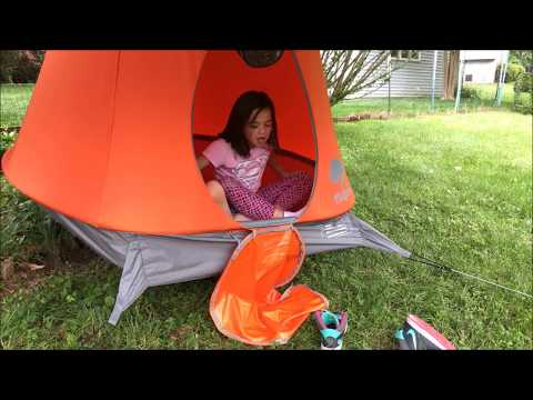 Review of TreePod Hanging Treehouse