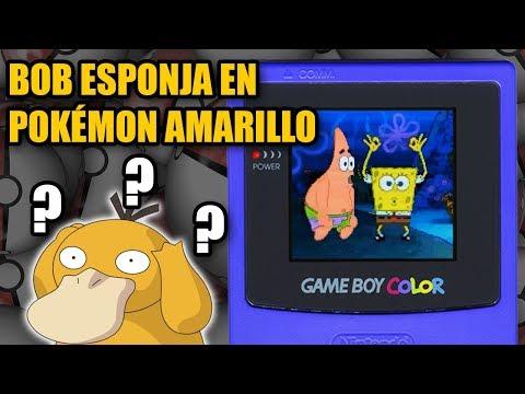 Bob Esponja en Pokémon Amarillo (Rom original) | Arbitrary Code Execution