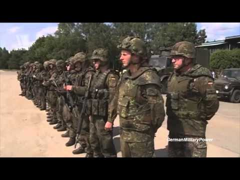 German Military Power Demonstration | Peace Through Strength | HD