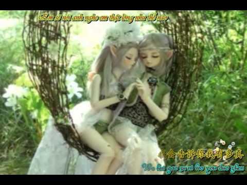 (Vietsub + Kara) Qing qing de gao su ni - Nhẹ nhàng nói anh nghe - Dương Ngọc Doanh